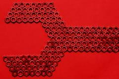 ключевой красный цвет Стоковое Изображение