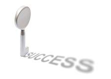 ключевой успех к Стоковое Изображение RF
