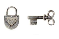 ключевой padlock Стоковое фото RF