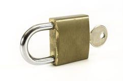 ключевой padlock Стоковая Фотография RF