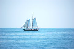 ключевой schooner западный Стоковое Изображение RF