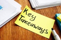 Ключевые выносы Ручка и pepers памятки стоковое фото rf