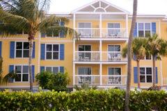 Ключевые западные цветастые дома в южном Флорида стоковое изображение