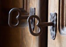 ключевые keyholes Стоковые Фотографии RF