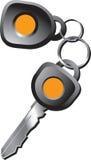 ключи автомобиля иллюстрация вектора