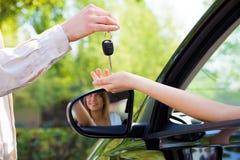 ключи автомобиля Стоковые Изображения