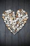 Ключи влюбленности сердца валентинки Стоковое фото RF