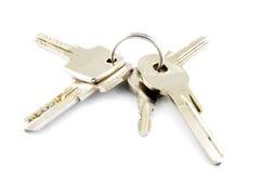 ключи дома ключевые Стоковое фото RF