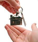 ключи дома к Стоковая Фотография RF