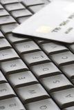 ключи карточки близкие Стоковое Фото