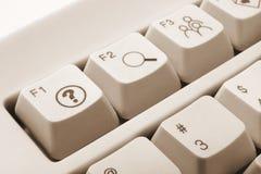 ключи компьютера Стоковая Фотография