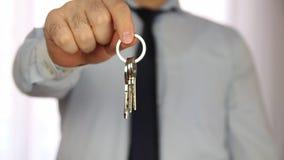 Ключи к новому дому сток-видео