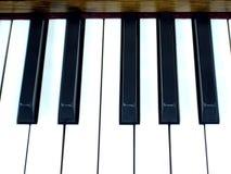 Ключи рояля стоковое изображение