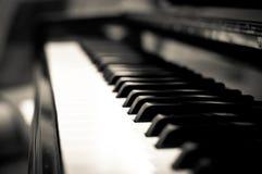 Ключи рояля Стоковые Фотографии RF