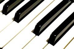 Ключи рояля Стоковая Фотография RF