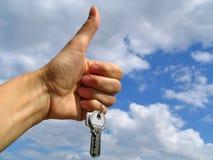 ключи счастья Стоковое Изображение RF