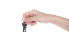 ключи удерживания руки стоковые фото