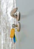 ключи утюга двери Стоковое Изображение