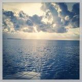 Ключи Флориды в лет-голубой воде Стоковая Фотография RF