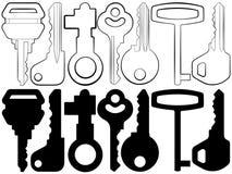 ключи Стоковое Фото