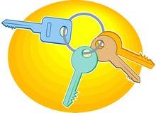 ключи иллюстрация вектора