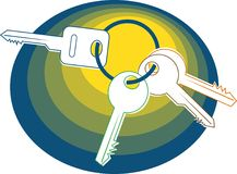 ключи бесплатная иллюстрация