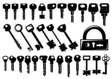 ключи Стоковое Изображение