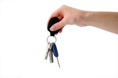 ключи fob вися ключевые Стоковое Фото