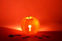 ключи keyhole яблока Стоковое Фото