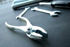 ключи scrow плоскогубцев Стоковые Фотографии RF