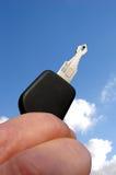 ключ автомобиля стоковые фото