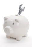 ключ банка piggy Стоковые Фотографии RF