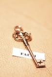 ключ веры стоковое фото rf