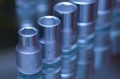 ключ гайки пирофакела установленный Стоковое Изображение RF