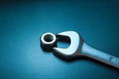 ключ гайки Стоковое Фото