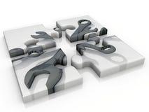 ключ головоломки бесплатная иллюстрация