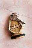 ключ гостиницы стоковые фото