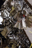 ключ двери Стоковые Изображения