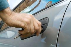 ключ двери Стоковое Изображение RF