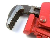 ключ для труб конца Стоковые Фото