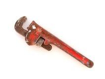 ключ для труб Стоковые Фотографии RF