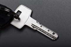 ключ дома двери Стоковые Изображения