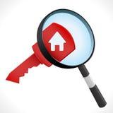 Ключ дома иллюстрация вектора