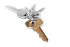 ключ золота Стоковое фото RF