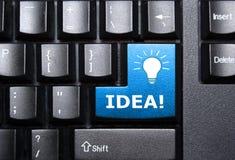 ключ идеи Стоковое фото RF