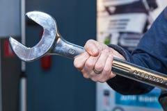 Ключ инструмента для ремонта Стоковая Фотография