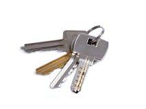 ключ квартиры к Стоковые Фотографии RF