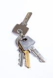 ключ квартиры к Стоковые Изображения