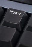 ключ компьютера домашний Стоковые Фото