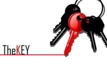 Ключ к различной Стоковая Фотография